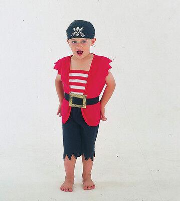 Piraten Junge Kleinkind Kostüm Kind 2-3 Jahre