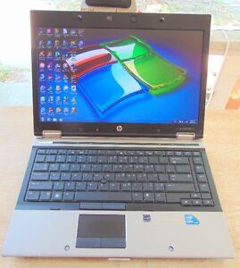 HP ELITEBOOK INTEL iCORE 5 2.40 GHZ REFURB LAPTOP WINDOWS 7 Peterborough Peterborough Area image 1