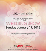 VENDORS WANTED: The Perfect Wedding Show - January 17, 2016
