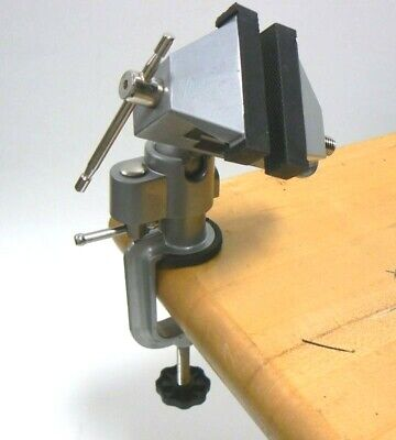 Vises Bench Swivel W Clamp 3 Tabletop Vise Tilt Rotates 360 Work Bench Tool