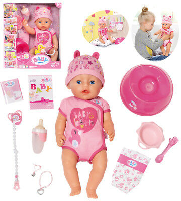Zapf Creation Baby Born Soft Touch Girl Puppe 43 cm (Pink)