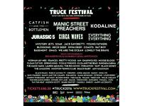 1 X Weekend Camping Ticket For TRUCK FESTIVAL