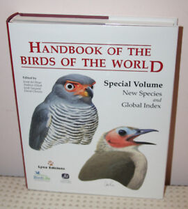 Handbook of the Birds of the World Volumes 1-16 plus Special Ed.