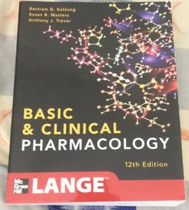 LANGE Basic and Clinical Pharmacology