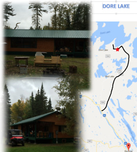 NEW PRICE- Cabin at Northern Sask Trophy Lake