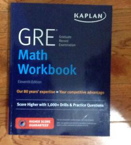 GRE Math Workbook by Kaplan Test Prep, 11th Edition
