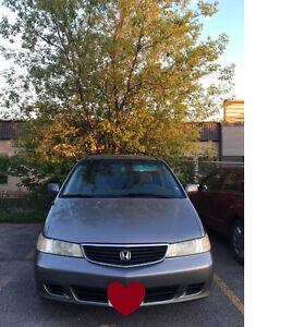 For Sale! 2000 Honda Odyssey Minivan, Van