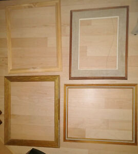 11 (wooden) frames (leftover from project) $2-$4, or all for $15