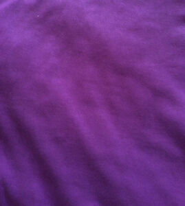 Queen Size Reversible Comforter, Peace Sign/Purple - St. Thomas London Ontario image 2