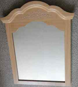 """Elegant Mirror - With Beautiful Hand Carvings ($40 O.B.O.)"