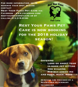 Pet Sitting and Dog Walking Services