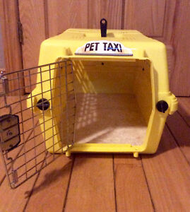 Pet Taxi Kennel/Crate For Dog Or Cat - St. Thomas