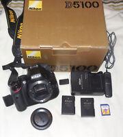 Nikon Model D5100 16.2MP SLR Camera, Body,