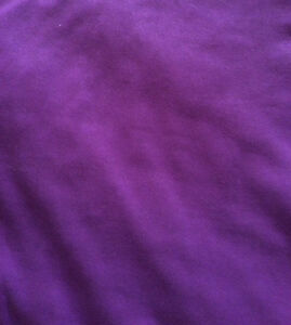 Reversible Queen Size Comforter, Purple/Peace Sign - St. Thomas