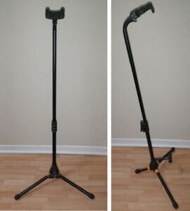 Hercules guitar or bass stand or Korg guitar tuner