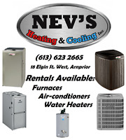 Rentals - Furnace - Air Conditioner & Water Heaters Arnprior