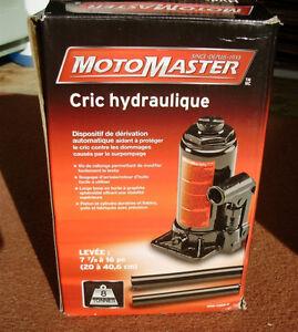 ( Jack ) Cric Hydraulique ( Jack ) 8 tonnes de MotoMaster