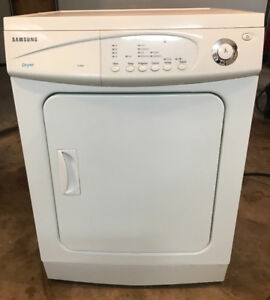 Samsung Apartment Size Dryer