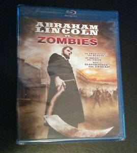*NEW Abraham Lincoln VS Zombies -Blu-ray $10 NEW* London Ontario image 1