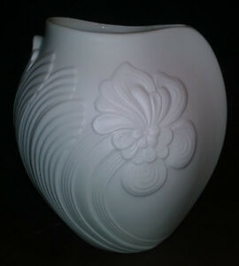 Kaiser, West Germany, Op Art Vase, Alka Kunst,  1970s