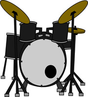 Rock Drum lessons for teens !