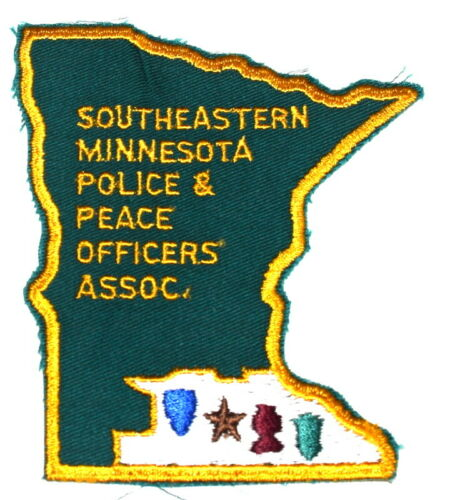 MINNESOTA- SE POLICE & PEACE OFFICERS ASSN -MN Sheriff Police Patch STATE SHAPE