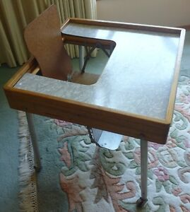 child feeding table 1950s vintage Baby Butler