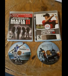 4 PS3 Game's for 15.00 Total