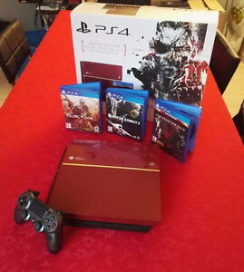 Playstation 4 Ps4 Édition Limitée Collector Metal Gear Solid 5 V