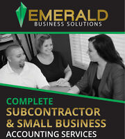 SUBCONTRACTOR & SMALL BUSINESS ACCOUNTING SERVICES