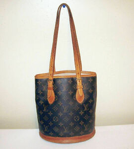 Louis Vuitton Petite M Bucket handbag ** Authentic