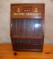 Display Magasin Des Année 40 Clark's Anchor Machine Embroiderey