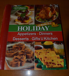 2 Cookbooks: HOLIDAY 4-in-1 & Land-O-Lakes COUNTRY HERITAGE