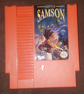 Little Samson Nintendo Entertainment System NES