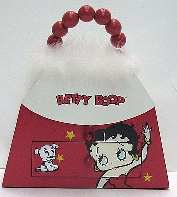 BETTY BOOP WOODEN TRINKET BOX