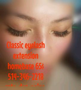 Keratine lash lift 50 dollars classic eyelash extension 65