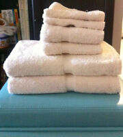 NEW Bath Towel Sets, cream colour available - UPDATED