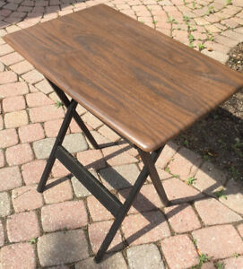 FOLDING DINING CORNER COFFEE MAGAZINE TABLE •