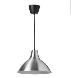 IKEA Foto Aluminium Pendant Lamp, 38cm
