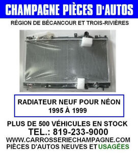 RADIATEUR NEUF POUR DODGE NEON 1995 À 1999 COOLING, RADIATOR