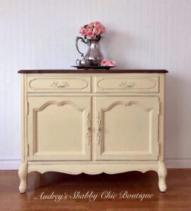 Elegant French Provincial Sideboard/Buffet