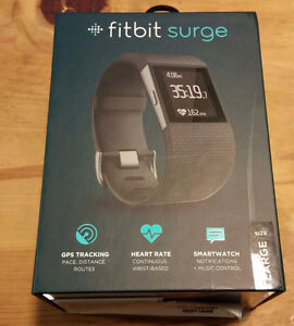 BRAND NEW FITBIT SURGE SEALED IN BOX