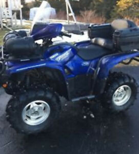 2009 YAMAHA GRIZZLY 700 LIMITED EDITION ATV