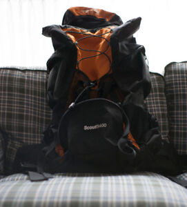 55L Teton Sports Scout 3400, Backpacking Backpack