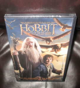 THE HOBBIT;  THE BATTLE OF THE FIVE ARMIES    DVD