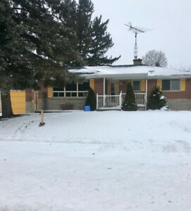 2 separate entrances 4 bedroom bungalow with finished basement