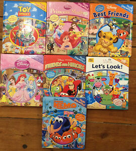 DISNEY LOOK AND FIND Giant Board Books - $4 each or all 7/$20