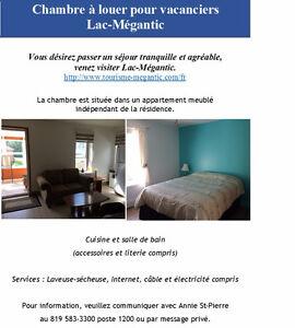 Chambre pour vacanciers Lac-Mégantic