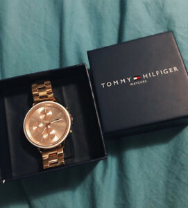 Tommy Hilfiger rose gold women's watch