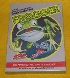 ATARI 2600 FROGGER Game With Original Box